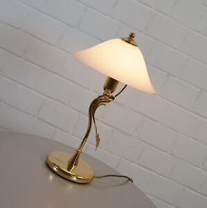 Loft Vintage Tischleuchte E27 in Messing Tischlampe Leuchte Tisch Wohnzimmer