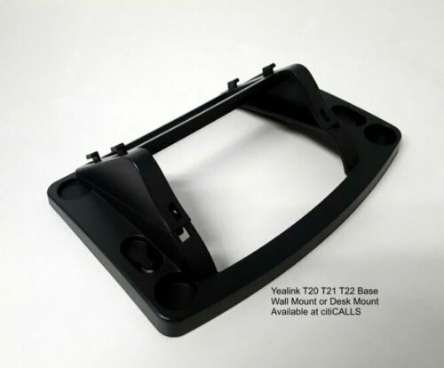 Yealink T21-BASE Desk and Wall Mount Bracket Stand for T21 T21P T21P-E2 IP Phone