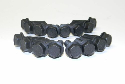 Chevy 1955-57 BB 396 427 Flange Black Oxide Gr 8  Exhaust Manifold Bolts NEW