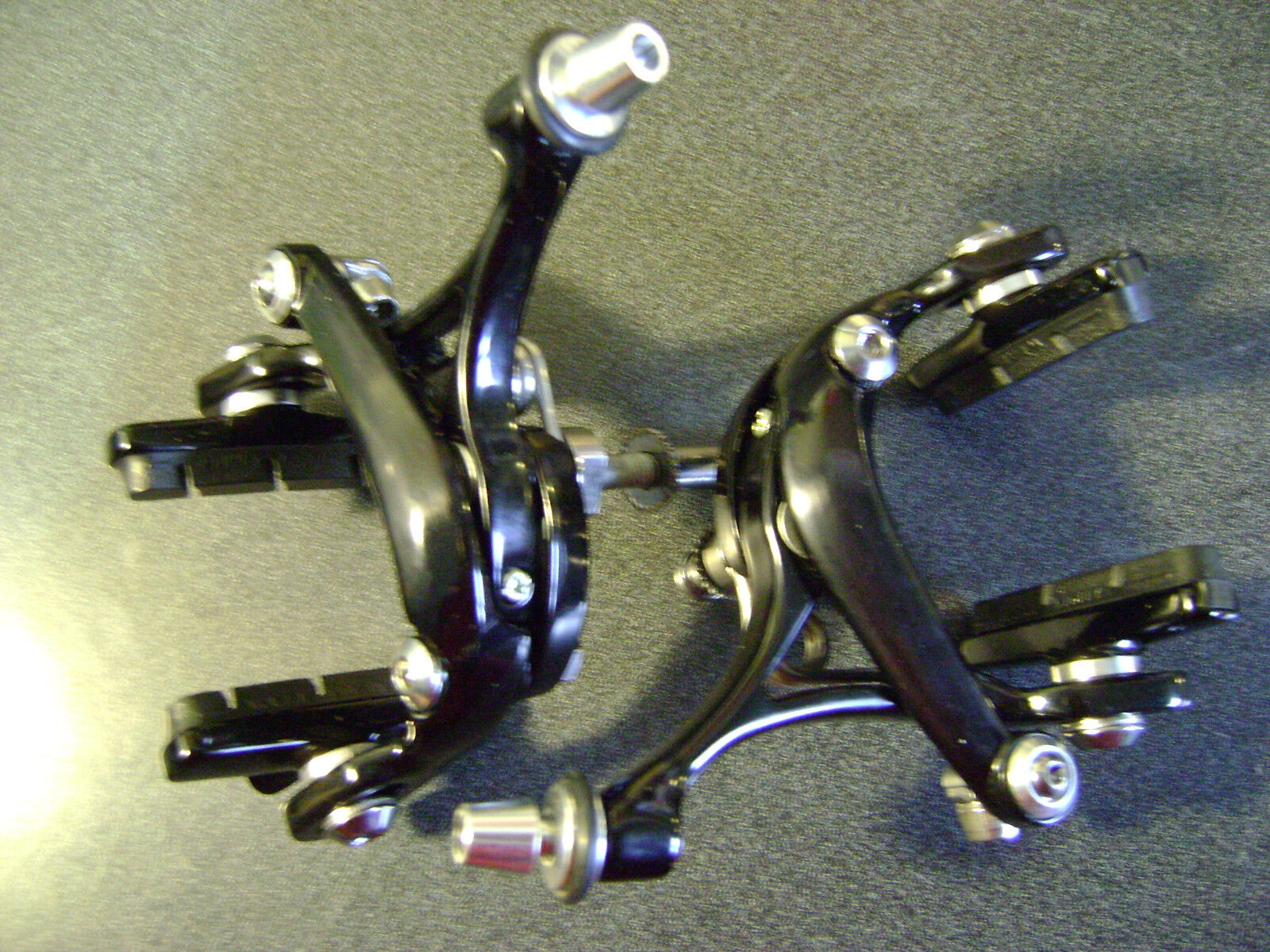New pair  Campagnolo Veloce bicycle brake calipers front & rear  authentic quality