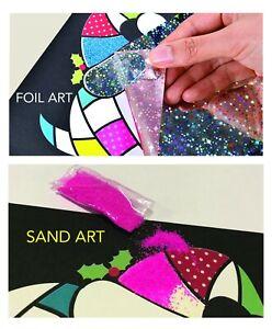 Details About Kid S Sand Art Foil Art Crafts Kids Toys Children S Diy Creative Kit