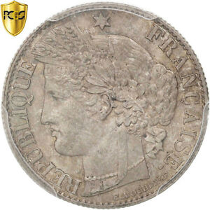 96430-France-Ceres-50-Centimes-1895-Paris-PCGS-MS63-SPL-Argent