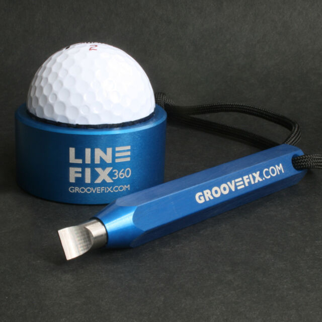 GOLF BALL LINE MARKER & GOLF GROOVE SHARPENER BUNDLE
