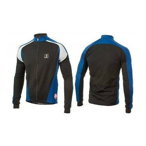 BIEMME EXTRA LARGE XL Windstopper Antivento Impermeabile Ciclismo Bicicletta Giacca Blu