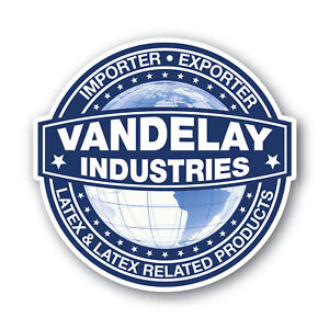Vandelay-Industries-Sticker-110mm-quality-water-fade-proof-vinyl-latex-products