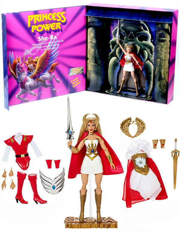 PRINCESS OF POWER - SHE-RA 11  Doll Figurine SDCC Comic Con Mattel Motu He-Man