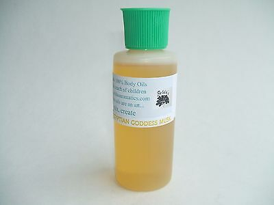 Zelda's Egyptian Goddess Musk Wholesale 100% Pure Body Oil 2 oz Bottle FREE SHIP