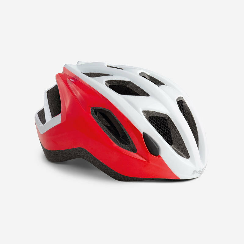 MET Espresso 2019 Road Bike Cycling Safety Predective Helmet Red White All Sizes