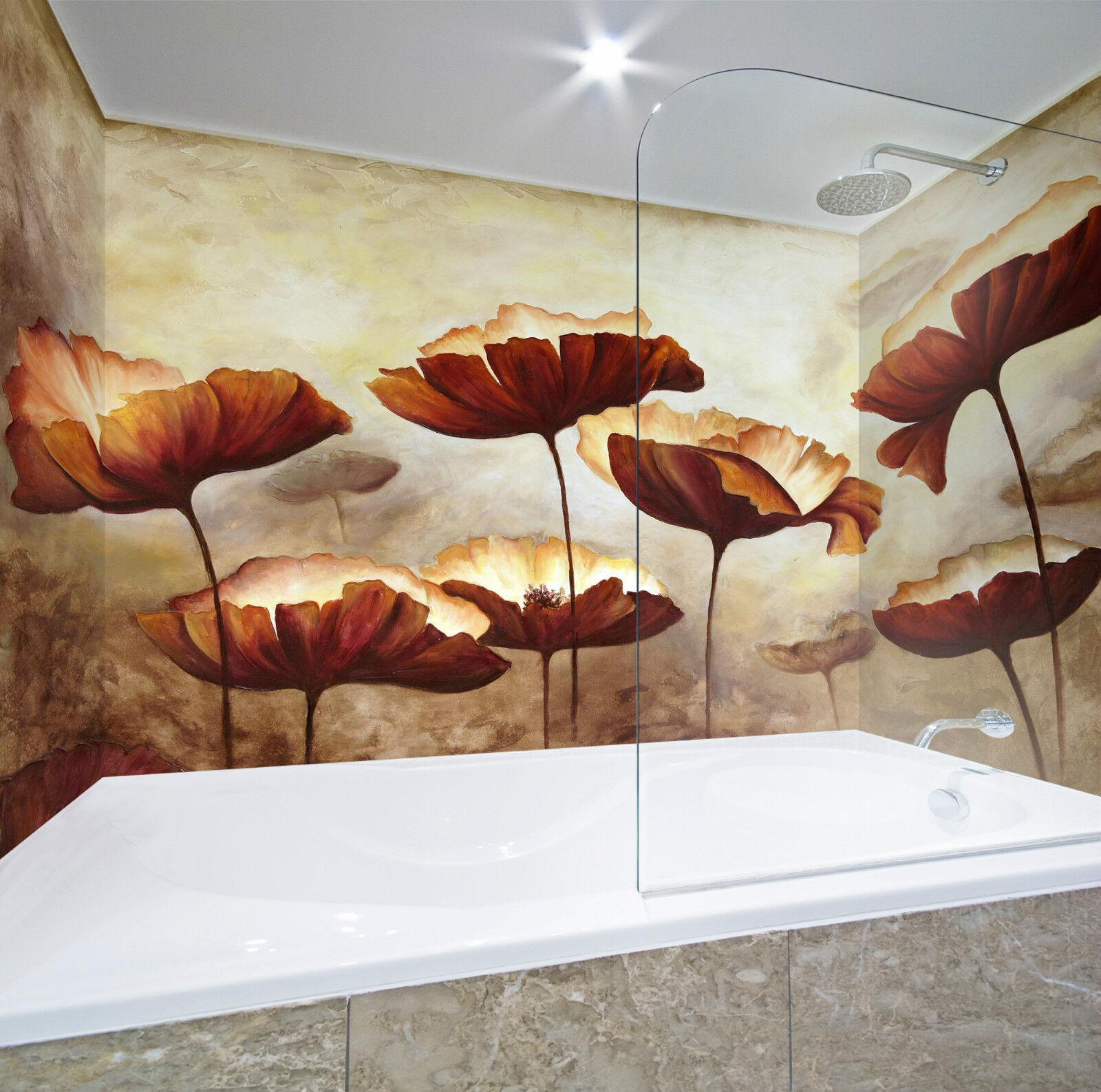 3D Mental Flowers 047 WallPaper Bathroom Print Decal Wall Deco AJ WALLPAPER CA