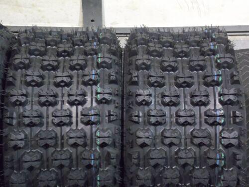 20X10-9 21X7-10 4 TIRES 1999-2014 HONDA TRX 400EX QUADKING SPORT ATV TIRES