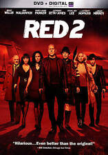RED 2 DVD NEW!!!FREE FIRST CLASS SHIPPING !!