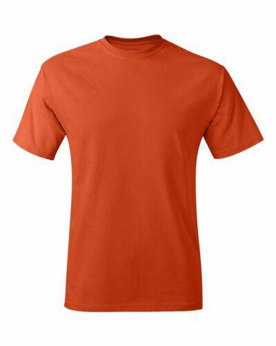 NEW Hanes Men/'s Tagless Plain Crewneck Short Sleeves T-Shirt 5250 S~XL