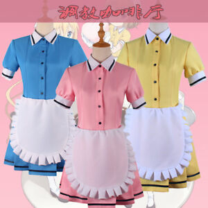 Anime Blend S Maika Kaho Hinata Amano Miu Maid Dress Outfit Cosplay ... e0ba0d131c8b