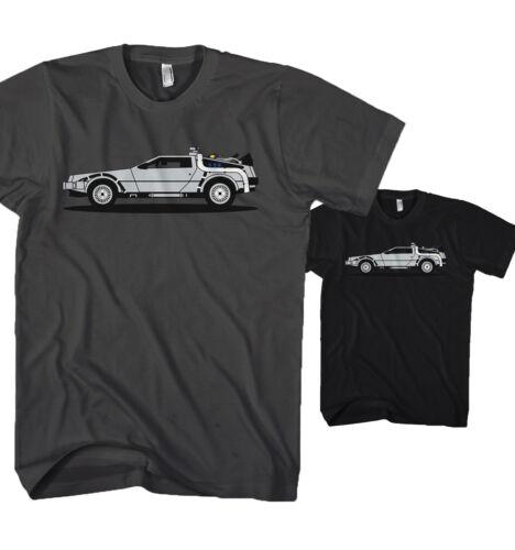 Señores t-shirt de vuelta en el futuro auto tuning DMC 12 película nuevo s-5xl zk18117