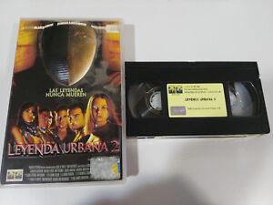 LEYENDA-URBAN-2-JOHN-OTTMAN-HORROR-TERROR-VHS-TAPE-TAPE-SPANISH-WITH-RELIEF