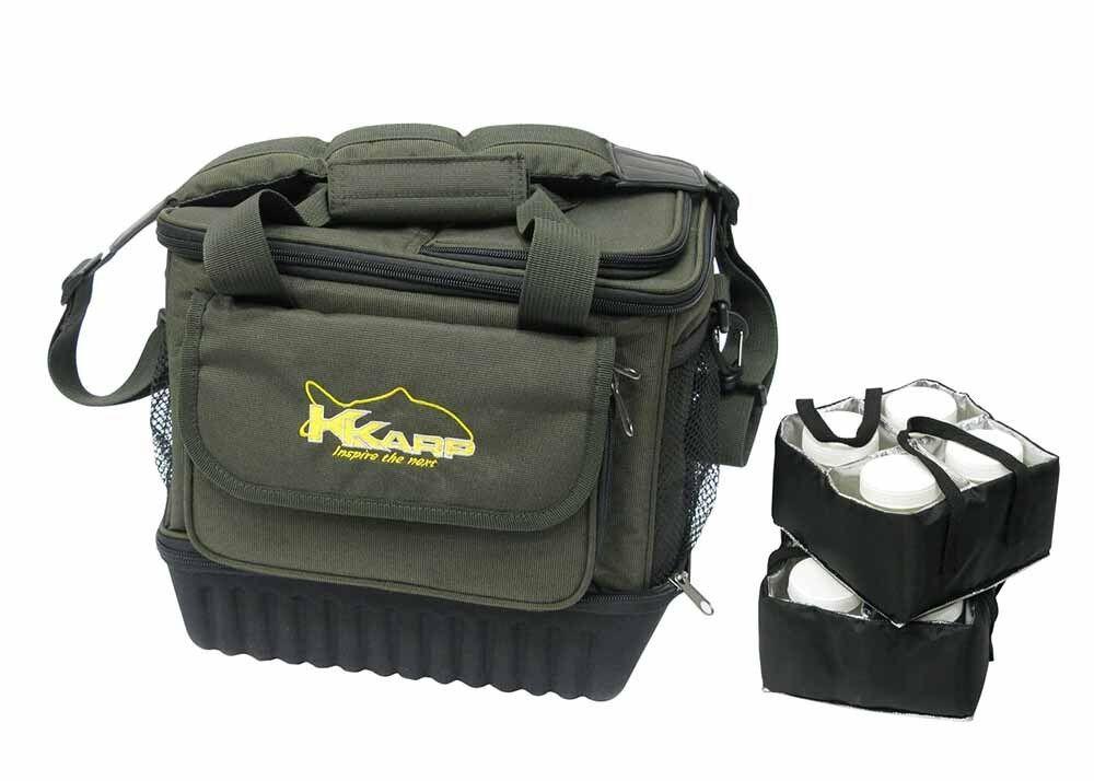 19350055 Bolsa trmica Cooler Bag Organizador K-Karp Boilies CARPFISHING Pesca