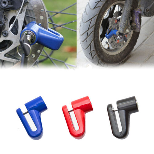 Heavy Duty Anti Theft Motorcycle Bicycle Disc Moped Scooter Brake Lock Safety