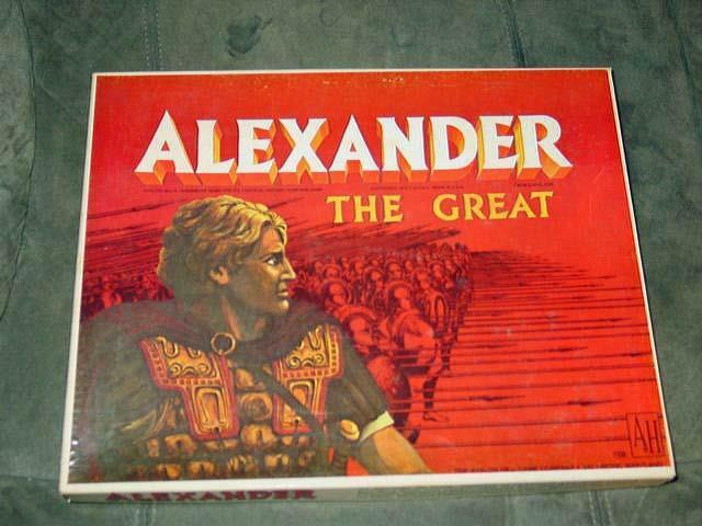 AH Avalon Hill 1974 - Alexander game   Greek ancient wars  (PUNCHED) MACEDONIA