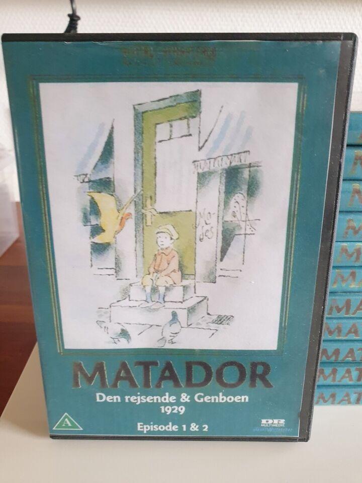 MATADOR SAMLET, DVD, TV-serier