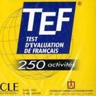 TEF - 250 activités. Audio-CD von Gaelle Karcher und Sylvie Pons (2006, CD)