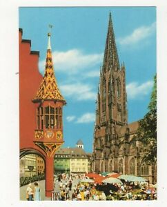 Freiburg-Muensterplatz-Germany-Postcard-444a