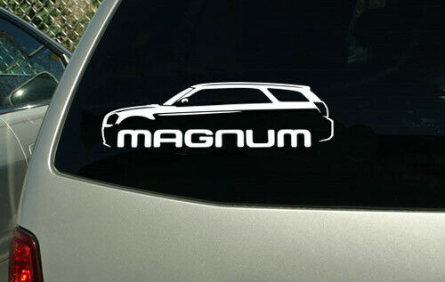 Dodge Magnum 2004 2005 2006 2007 2008 car sticker decal classic outline