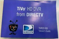 DIRECTV TiVO THR22 High Definition MPEG-4 HD-DVR THR-22