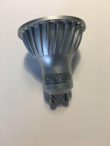 Lampaous 5w LED Gu10 Bulb Warm White Gu10 LED Lights 450lm Super Bright