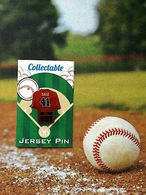 Preiswert Kaufen Boston Red Sox Chris Sale Trikot Revers Pin #1 2018 World Series Sammlerstück SchöNe Lustre Sport