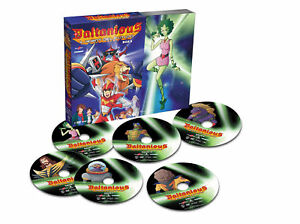 Daltanious-Il-Robot-Del-Futuro-Vol-2-BOX-6-Dvd-YAMATO-VIDEO