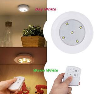 Sans Détails Led Placard Télécommande Lampe Cabinet Fil Batterie Cuisine Veilleuse Sur Sous DIWE29HY