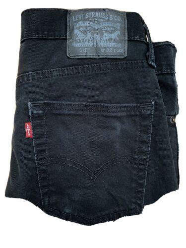 Levis 510 skinny jeans 32x32 Black