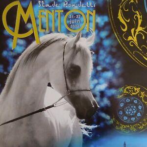 N2247-Poster-Caballo-Mediterraneo-Pais-Arabes-Campeonato-Menton-2008-Pn-Francia