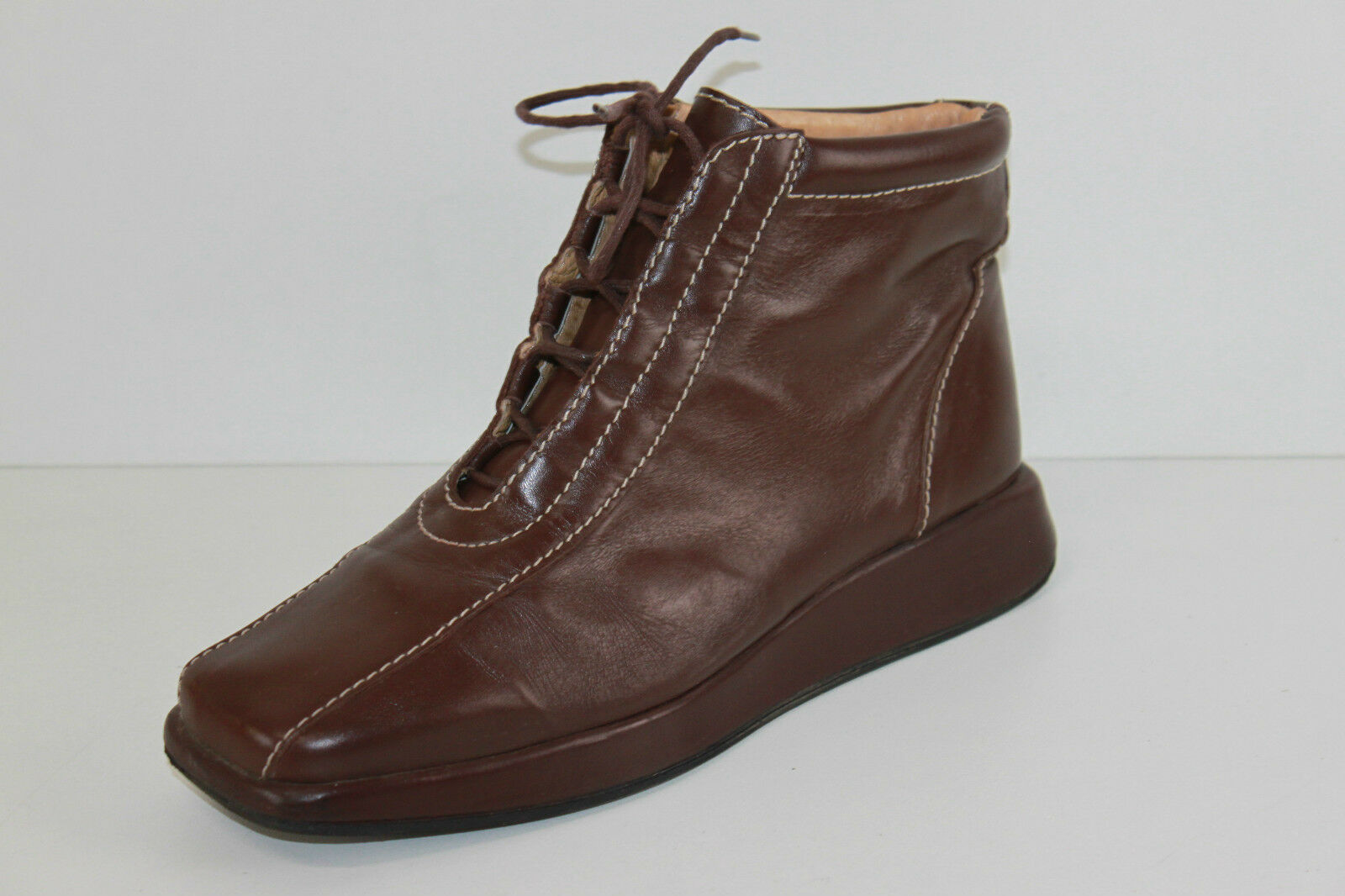 Bottines Boots LA SCARPA Cuir Souple brown T 39 TBE
