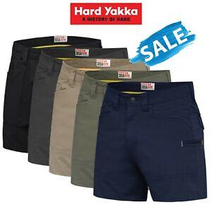 SALE-Hard-Yakka-3056-Short-Shorts-Cotton-Ripstop-Tradie-Utility-Stretch-Y05115