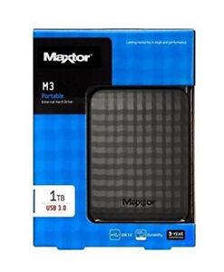HDD-ESTERNO-2-5-MAXTOR-1TB-M3-HARD-DISK-HDD-1000GB-2-5-034-AUTOALIMENTATO-3-0-1-TB