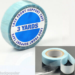 Strong Blue Double Sided Adhesvie Roll Tape For Tape In