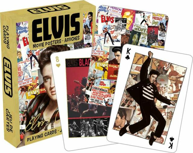 Elvis Movie Poster Playing Cards by Aquarius - 52 Unique Images!