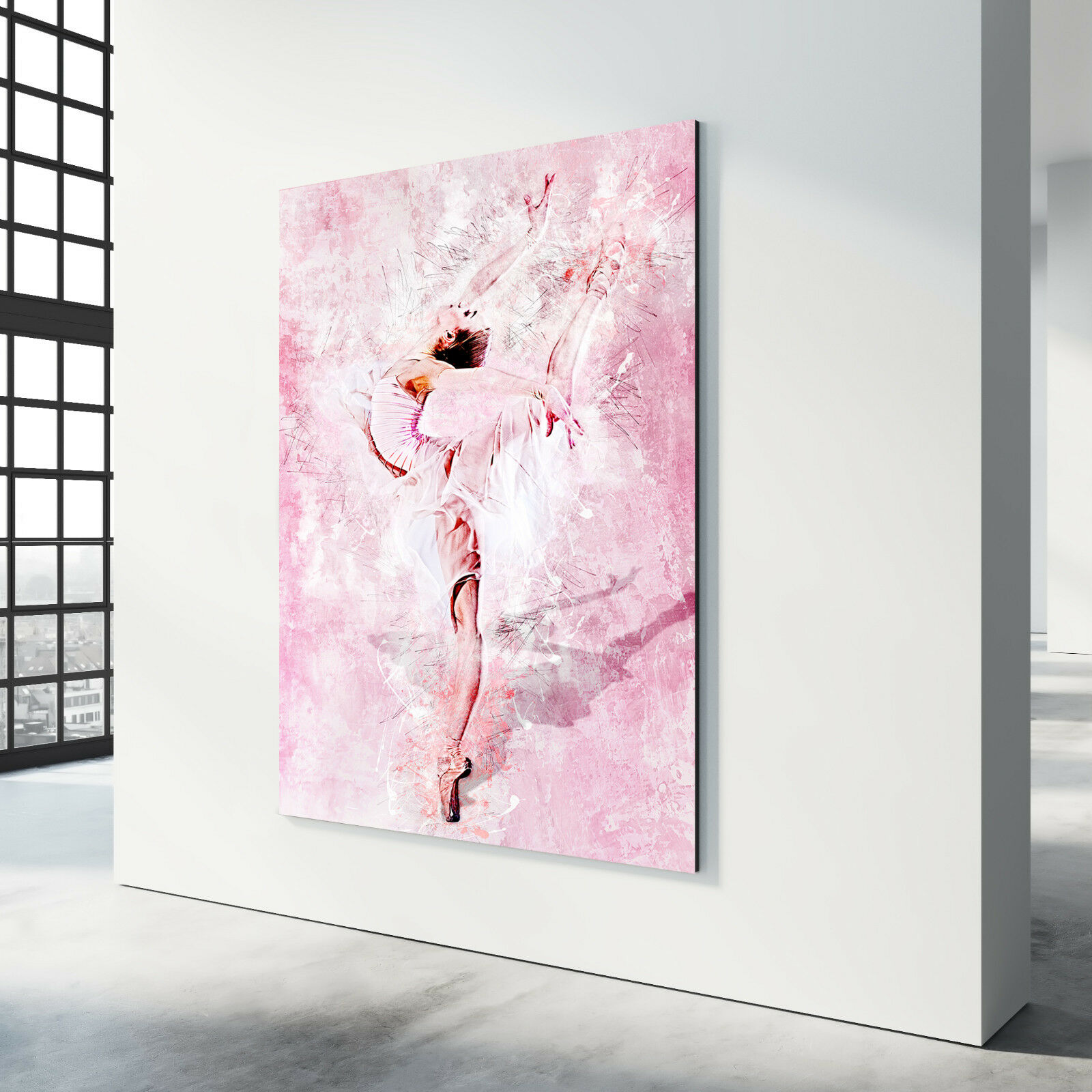 Toile Image Danseuse De Ballet Abstrait Images Peintures Peintures Peintures murales Ballerine Art Pression | Des Styles Différents  364f18