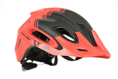 Quality Raleigh Magni MTB Mountain Bike Cycle Helmet RED 60-64cm Large Adults