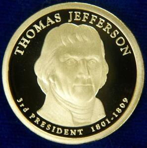 Uncirculated Sealed Roll of 25 Thomas Jefferson Gold Dollars
