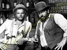 BUD SPENCER & TERENCE HILL -  print signed photo - foto con autografo stampato