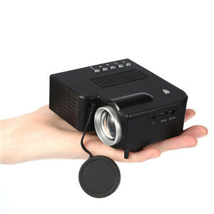 Details about UC28 LED 3D Mini TV Home Cellphone Media Projector 1080p with  USB SD VGA HDMI AV