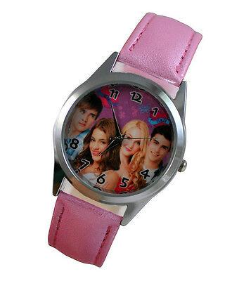 Disney VIOLETTA Girl Child Fashion Watch Wrist Gift Xmas YBX19