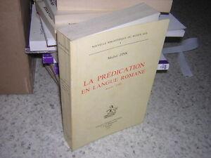 1976.prédication en langue romane.Zink.envoi.moyen age - France - J'accepte le renvoi des objets: J'accepte le renvoi des objets - France