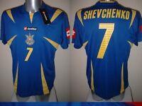 Ukraine SHEVCHENKO Shirt Jersey Football Soccer Lotto Adult XL BNWT New AC Milan