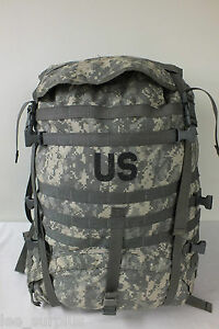 MOLLE-II-LARGE-RUCKSACK-FIELD-PACK-ACU-Digital-Camo-GENUINE-US-Military-VG-EXC