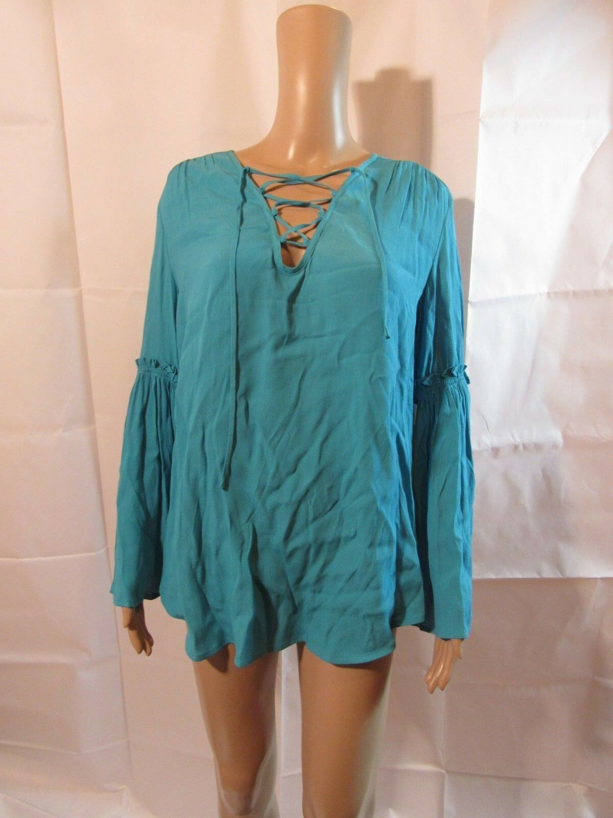 Fifteen Twenty Peasant Blouse NWT Größe Medium Retail