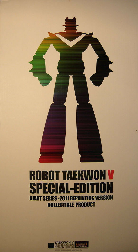Roboter taekwon - do v - ressurection design - serie 2011 - collector 's edition -