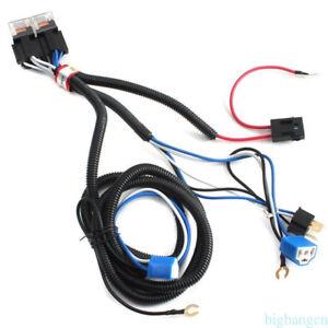 Relay Wiring Harness 4 Headlamp Light Bulb Socket Plug Ebay - Wiring on headlight relay wiring diagrams, headlight wiring diagram for a 93 toyota pickup, headlight switch wiring diagram, headlight socket wiring diagram,
